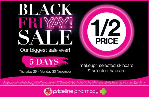 Priceline Pharmacy's Big Shopping Week Sale