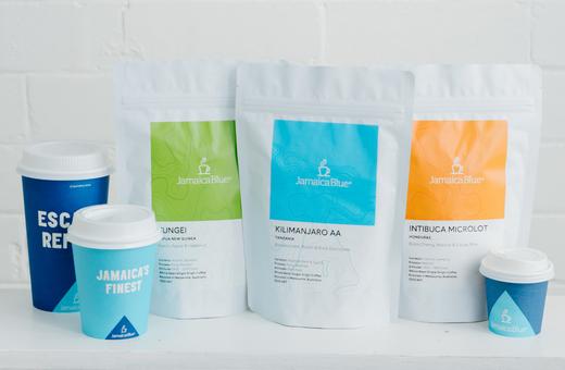 Travel via Your Coffee Cup @ Jamaica Blue!