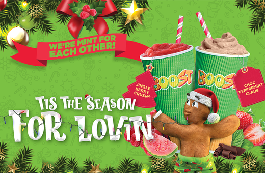 Boost Juice's Festive Season Range