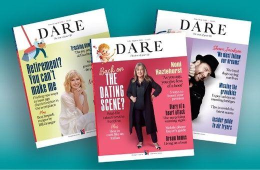 FREE issues of DARE magazine from Australian Seniors