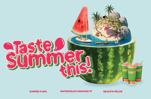 Life's a Beach so come Taste Summer This!