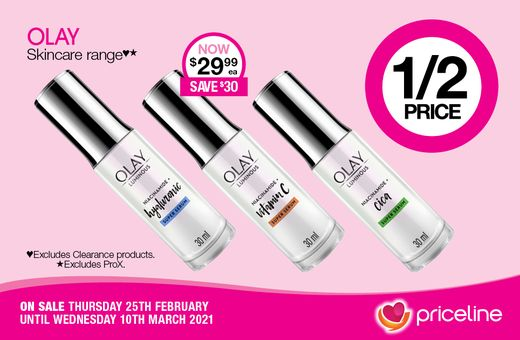 Priceline's February Catalogue Specials