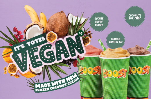Boost Juice - It's Totes Vegan