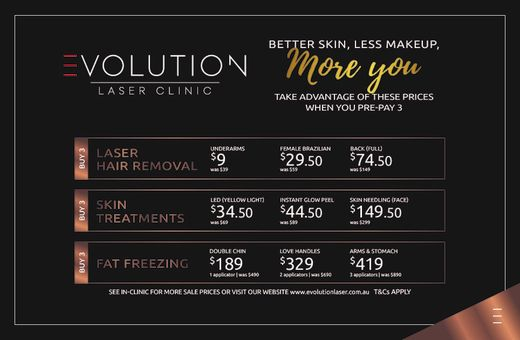 Better Skin, Less Makeup, More YOU! Save on your favourite treatments…