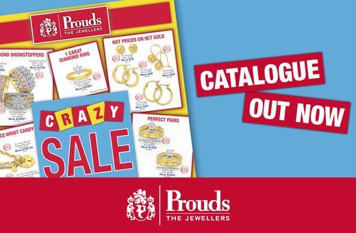 Prouds Crazy Sale Catalogue