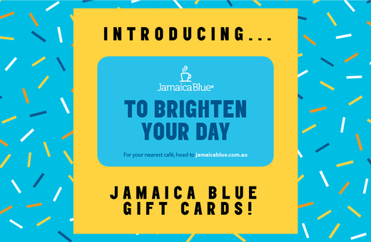 Jamaica Blue is launching Gift Cards!