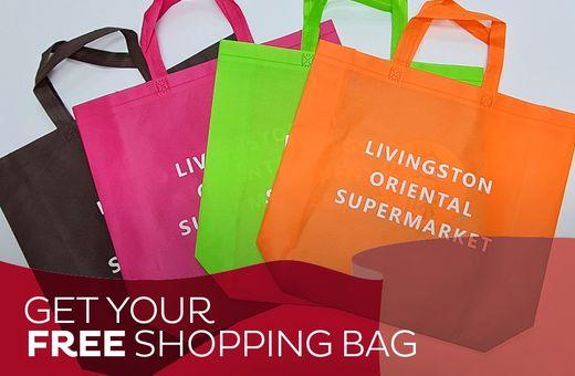 Get A Free Shopping Bag