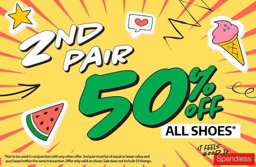 Spendless Shoes School Holiday Sale