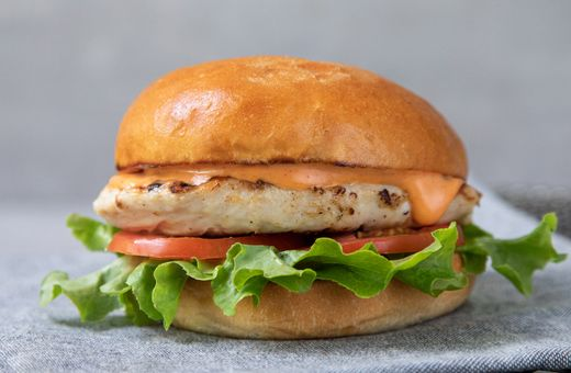 Bucking Bull's NEW Grilled Chicken Burger