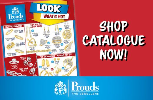 Prouds Look What's Hot Catalogue