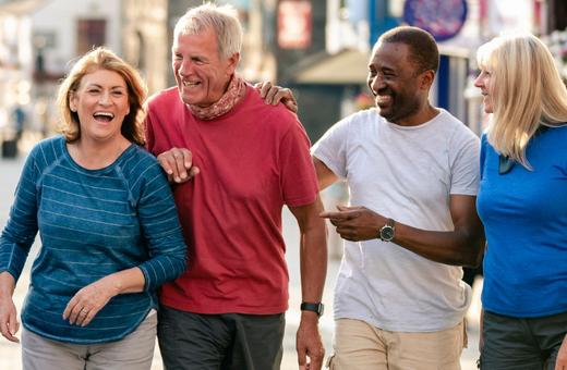 Senior Health Walks are Back!