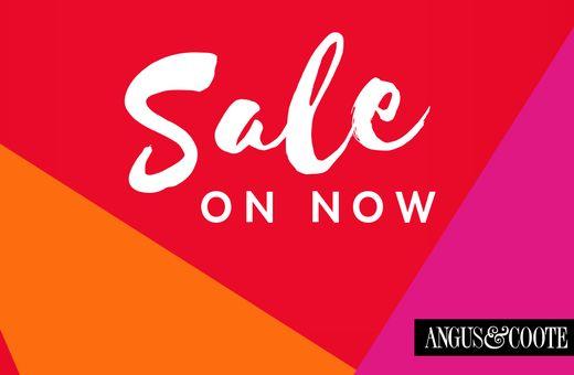 Angus & Coote's January Sale