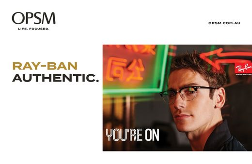 Discover Ray-Ban Authentic at OPSM