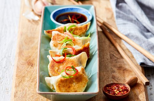 Shanghai Pan Fried Dumplings