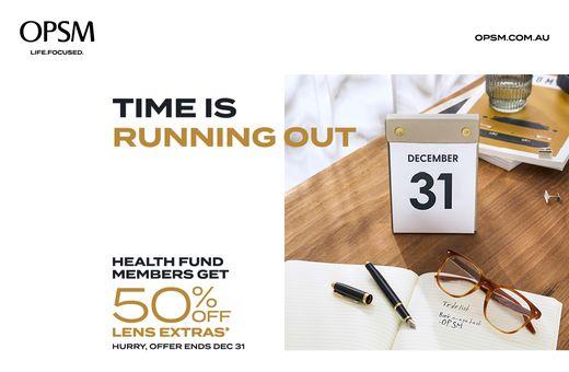 OPSM Health Fund Member Offer