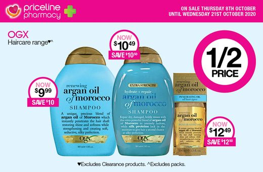 Priceline Pharmacy's October Catalogue Sale