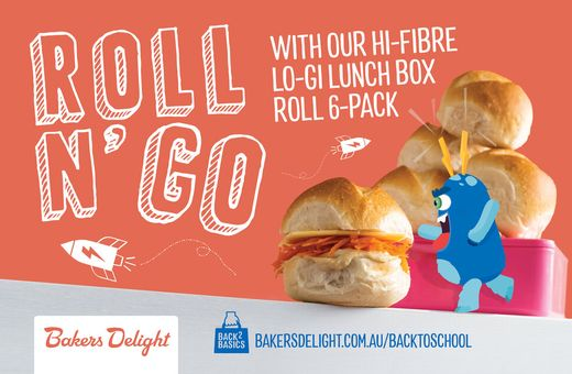 Back to School with Bakers Delight