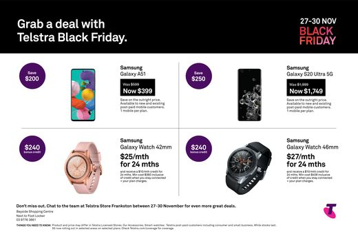 Telstra Black Friday offer