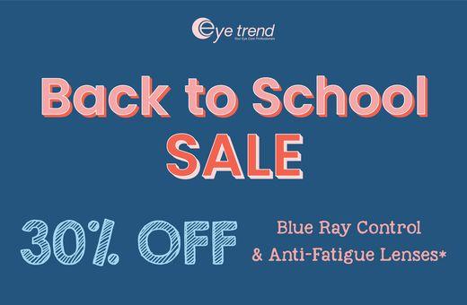 Eye Trend's Back to School Sale