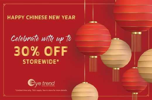 Eye Trend's Chinese New Year Sale