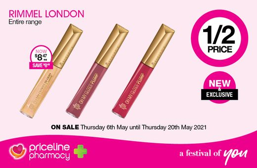 Priceline Pharmacy's May Catalogue Offers