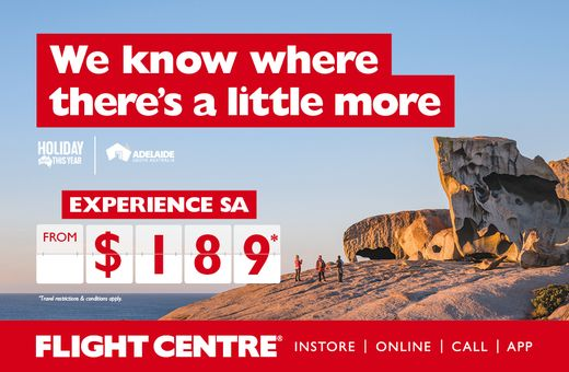 Explore South Australia with Flight Centre