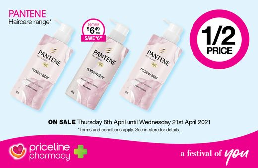 Priceline Pharmacy's April Catalogue Offers