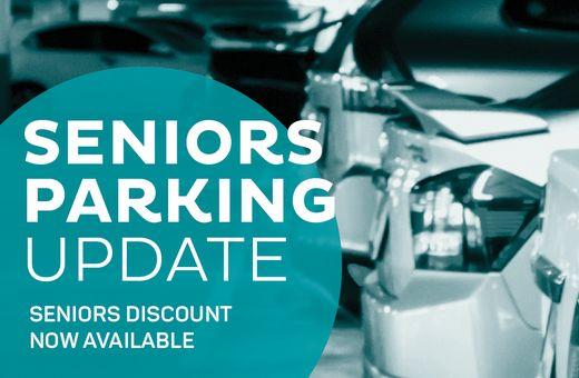 Seniors Parking Discount