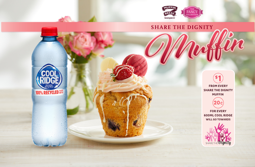 Share the Dignity Muffin at Muffin Break