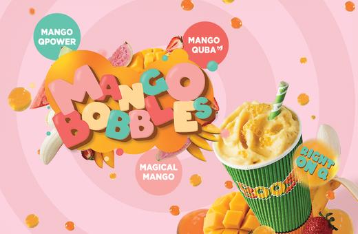 Boost Juice's Mango Bobbles