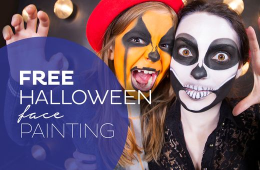 FREE Halloween Face Painting