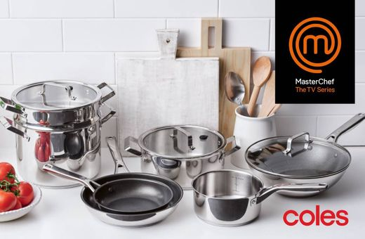 FREE MasterChef Cookware with MasterChef cookware credits