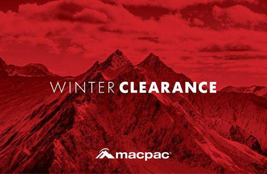 Macpac Winter Sale