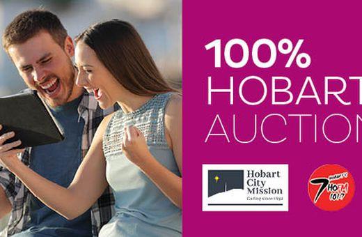 Hobart City Mission 100% Hobart Auction