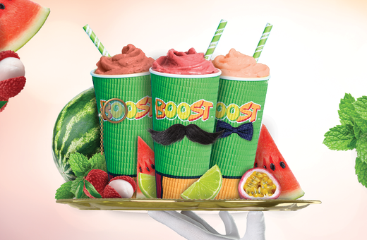 Boost Juice's Fancy Watermelon