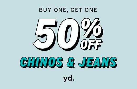 yd's Chinos & Jeans Sale