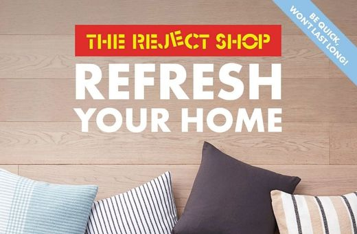 Refresh Your Home with The Reject Shop