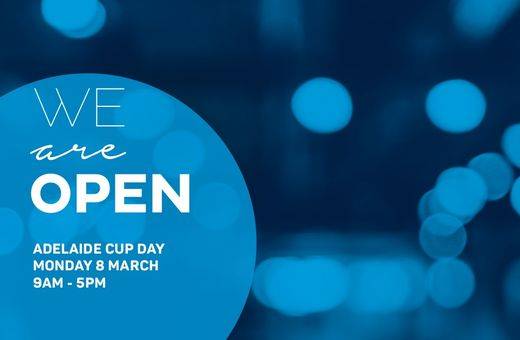 We're Open Adelaide Cup Day