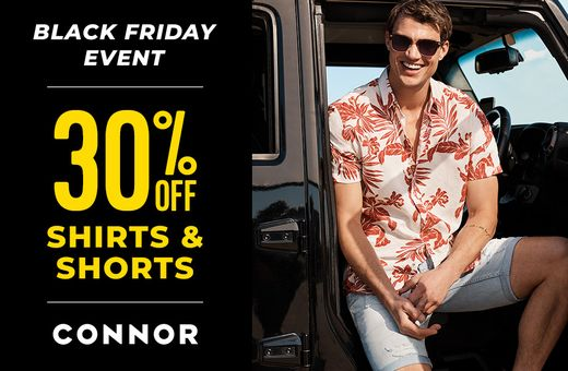 Connor's Big Shopping Week Sale