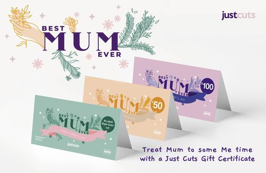 Just Cut's Mother's Day Gift Certificates