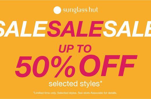 Sunglass Hut September Sale