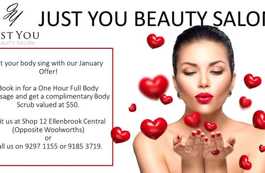 Just You Beauty - January Offer