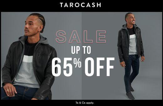 Tarocash's Up to 65% Off Sale