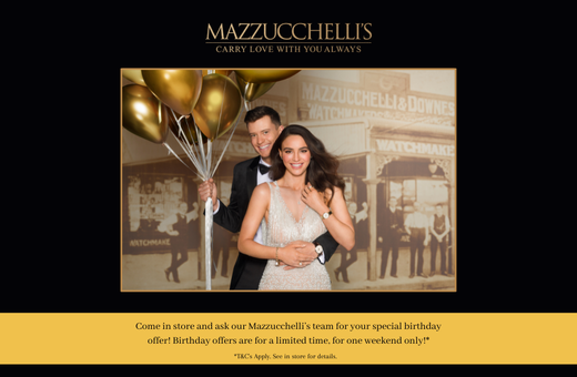 Mazzucchelli's is celebrating 118 years of History !