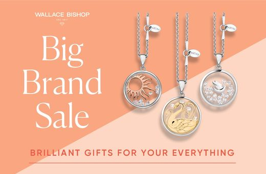 Wallace Bishop Big Brand Sale