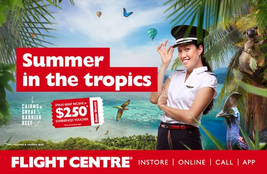 Organise a Tropical North Queensland Holiday with Flight Centre