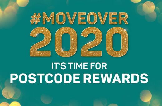 It's time for Postcode Rewards