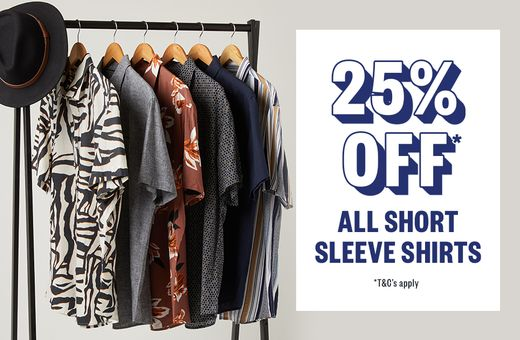 Johnny Bigg Short Sleeve Shirt Sale