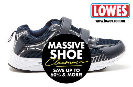 Lowes Massive Shoe Clearance