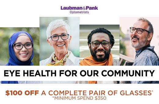 Laubman & Pank Prescription Eyewear Offer